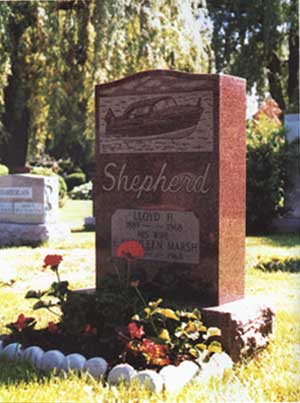 Lloyd Shepherd Headstone
